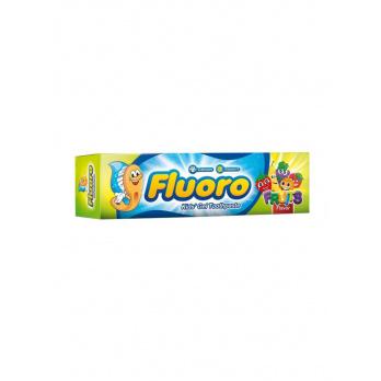 فلورو معجون أسنان جل للأطفال بطعم الفواكة 50 ملل