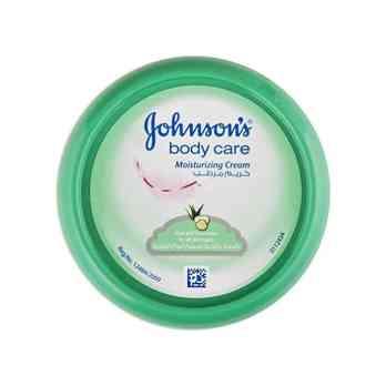 جونسون كريم مرطب بالصبار والخيار للعناية بالجسم لجميع أنواع البشرة 170 جم