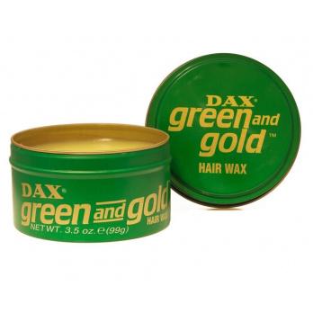 واكس الشعر أخضر وذهبي من داكس – 99 جم