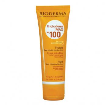 سائل واقي من الشمس بمعامل حماية SPF 100+ فوتوديرم ماكس من بيوديرما – 40 مل