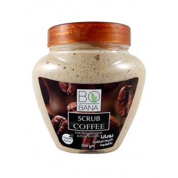 مقشر الوجه بخلاصة القهوة من بوبانا – 300 جم