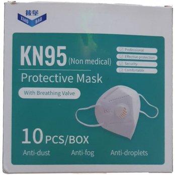ماسك الوجه KN95 بصمام التنفس