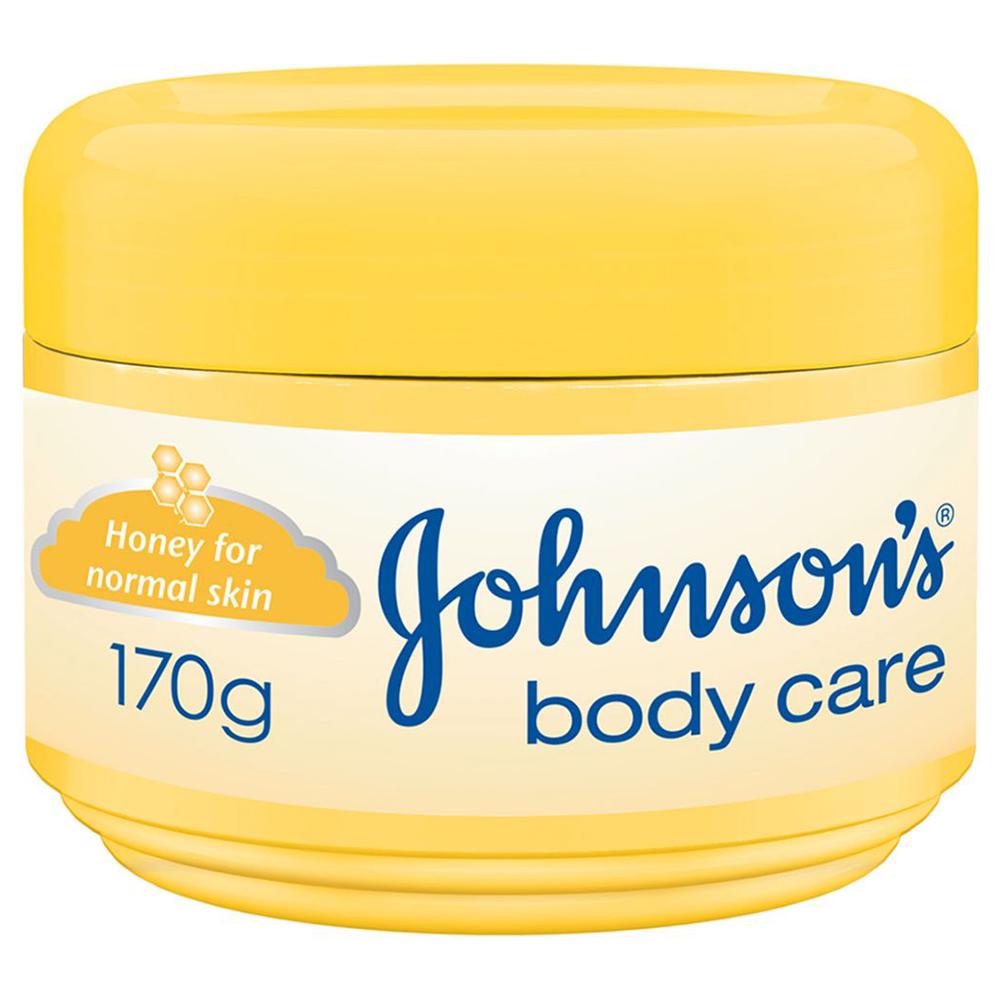 جونسون كريم مرطب بالعسل للعناية بالجسم للبشرة العادية 170 جم
